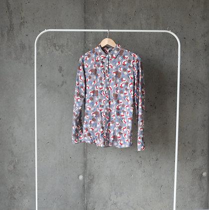 Koszula w kolorowym princie XL / XXL
