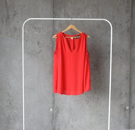 Czerwona luźna bluzeczka XL / XXL