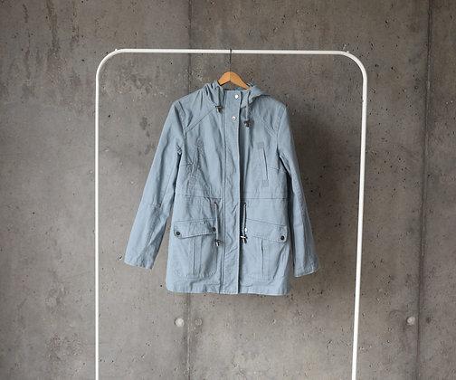 Kurtka błękitna jeansowa M - L