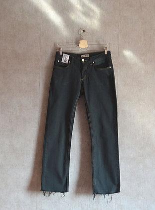 Grafitowe jeansy S - M