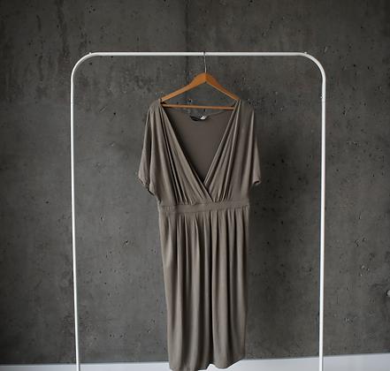 Sukienka elastyczna blado-zielona L / XL