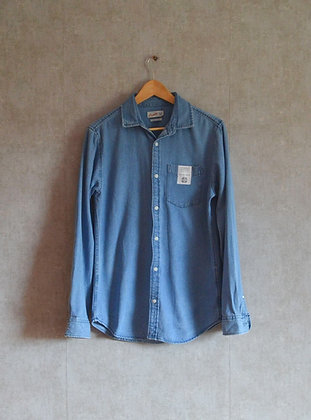 Dżinsowa męska koszula M