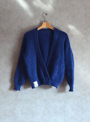 Habrowy wełniany sweterek L-XL