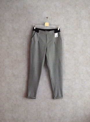 Spodnie szare melanżowe cygaretki M