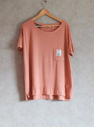 Łososiowa bluzka oversize L /XL / XXL