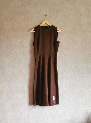 Stylowa sukienka z domieszką wełny S