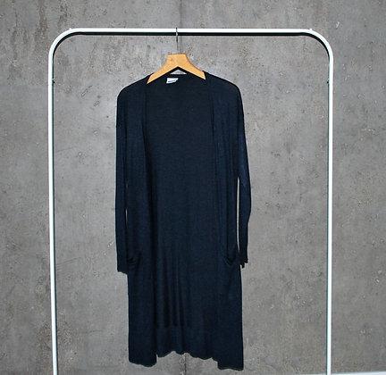 Lekki długi sweter z kieszeniami M - XL