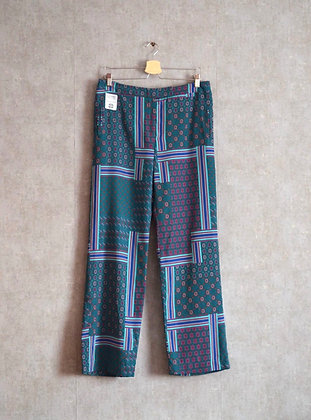 Spodnie luźne turkus M - L