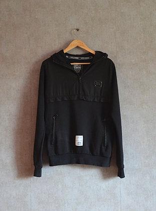 Bluza czarna z kapturem M