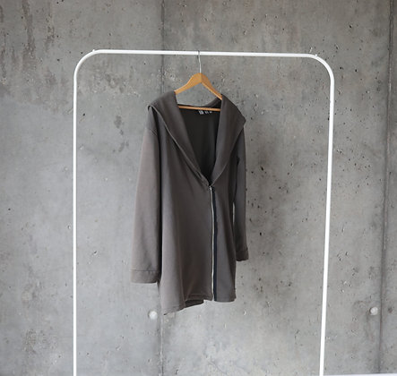 Bluza z szerokim kapturem XL