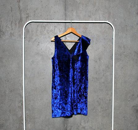 Habrowa aksamitna sukienka L / XL