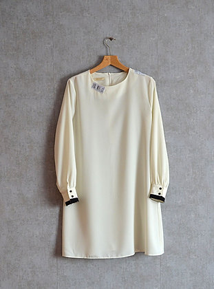 Biała krótka sukienka XL - XXL