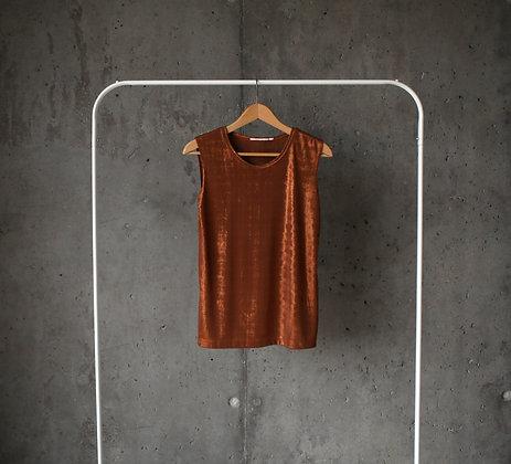 Złota karnawałowa koszulka L