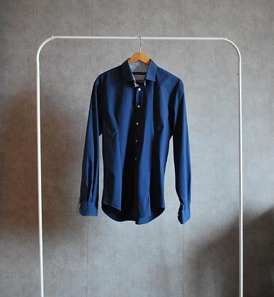 Koszula ciemnoniebieska M