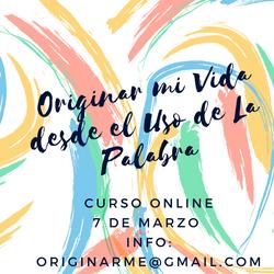 Curso Online 7 de Marzo Info_ Originarme