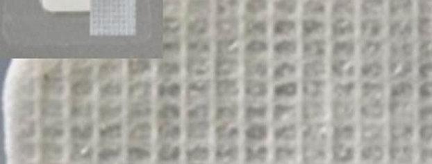 Trigo tull komb adhesive 15x15cm pr
