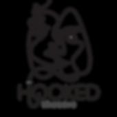 Hooked Theatre Logo Black Lines Transpar