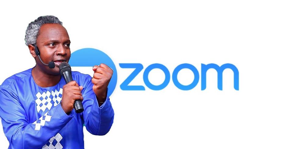 online ZOOM Sunday: Breakout Season with Henry Byamukama@Agape House