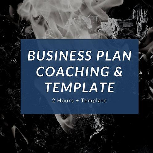 2 Hours Business Plan Coaching & Template