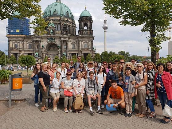 Gruppenführung durch Berlin