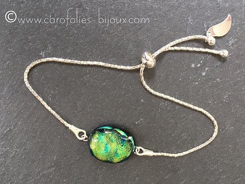 Bracelet maille serpentine