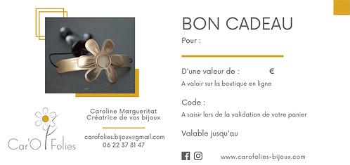 Bon Cadeau - 50 €