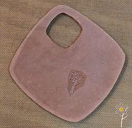 Pâtes de métaux - Logo Car'O Folies sur pâte crue, Art Clay