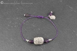 016-argent-bracelet-cylindre-fils-améthy