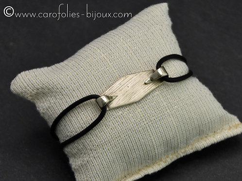 Bracelet en bronze blanc