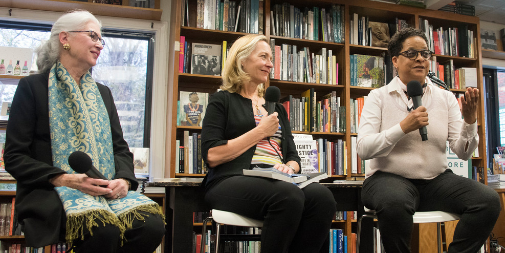 Sharon Holland speaks about mentorship at Politics & Prose