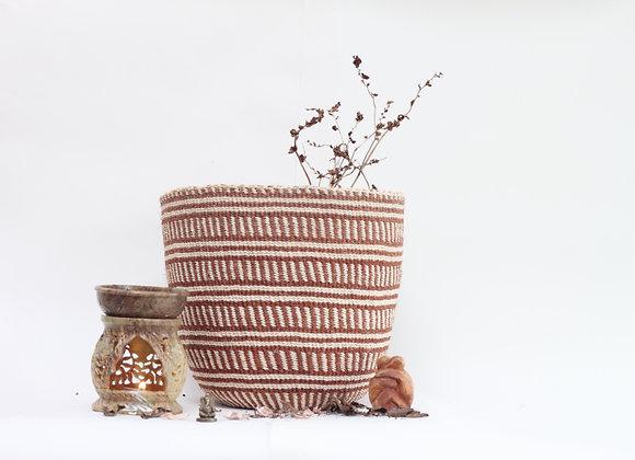 M | natural | basket | fine weave | sisal