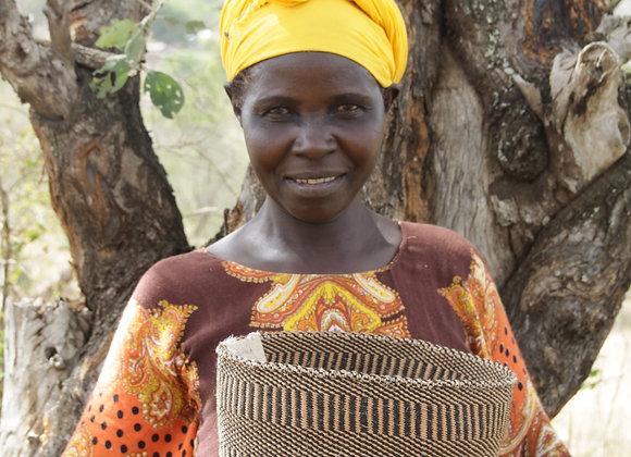 Portrait of a Basket Weaver