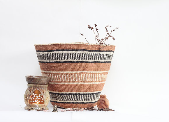 XL | natural | basket | fine weave | sisal