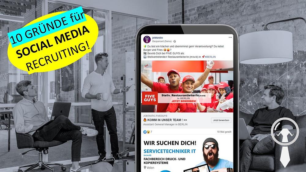 Facebook Jobs Instagram Mitarbeiter Wunschbewerber Zielgruppen