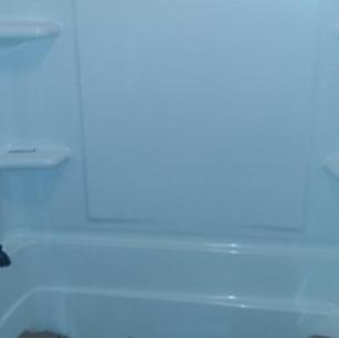 New Bathtub and Surround