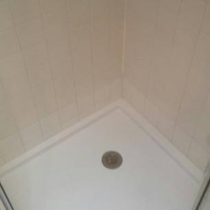 New Angle Shower Pan