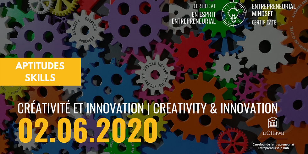 CEE: Créativité et innovation | EMC: Creativity & Innovation