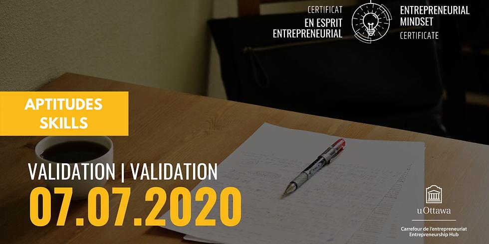 CEE: Validation   EMC: Validation