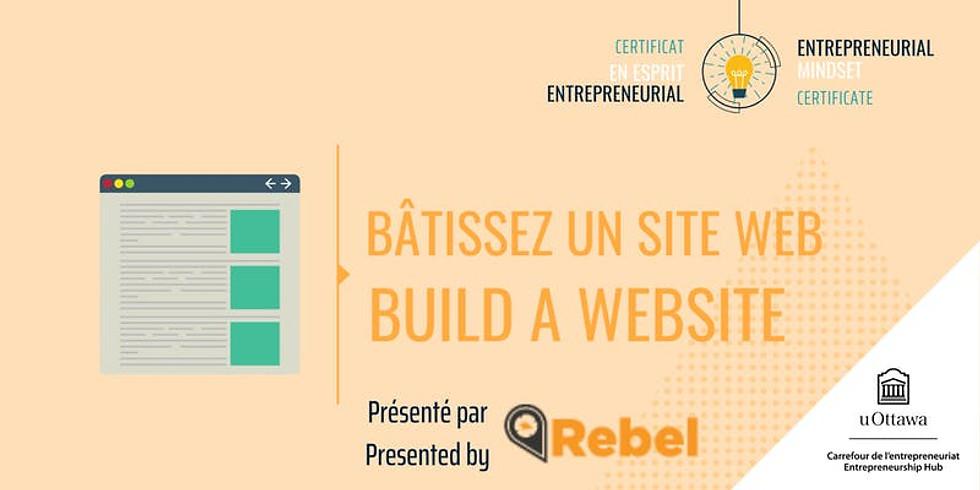 CEE: Bâtissez un site web | EMC: Build a Website