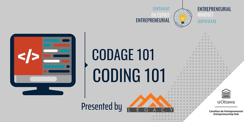 CEE: Codage 101   EMC: Coding 101