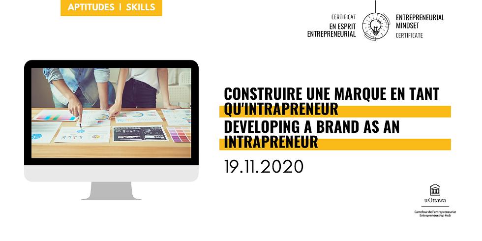 Développer une marque intrapreneuriale (en français)