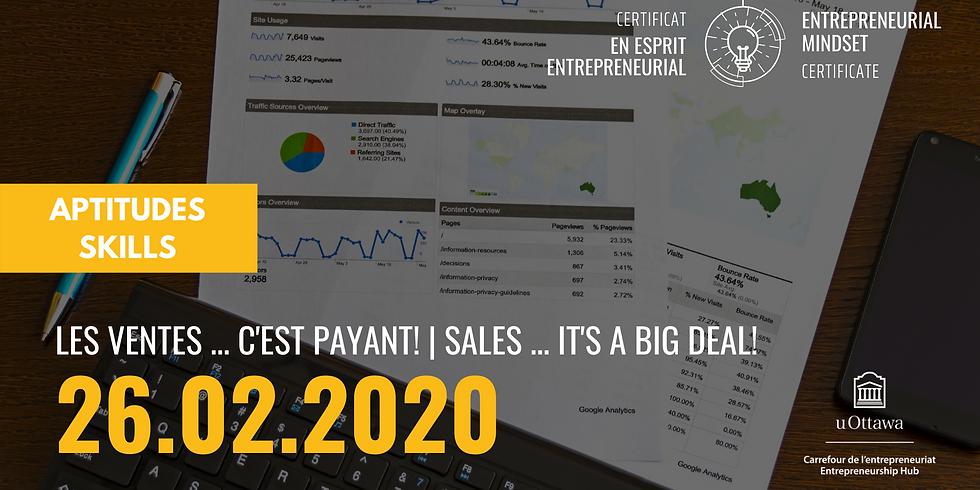 CEE: Les ventes... c'est payant! | EMC: Sales...it's a big deal!