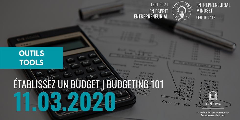 EMC: Budgeting 101 | CEE: Établissez un budget