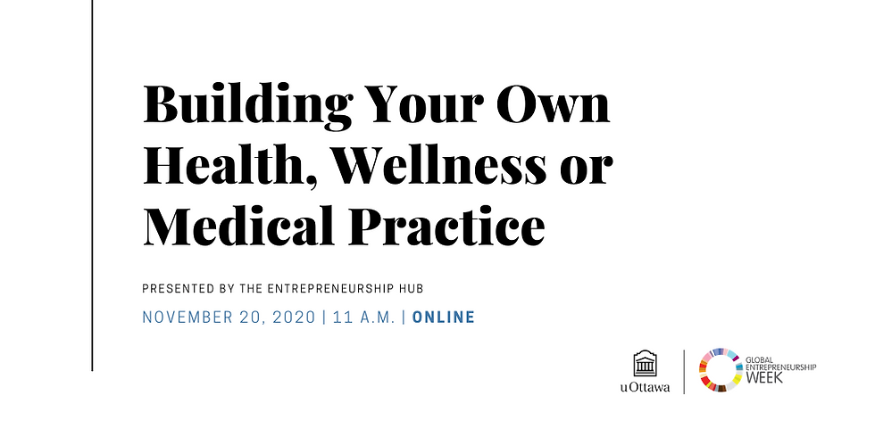 Building Your Own Health, Wellness or Medical Practice