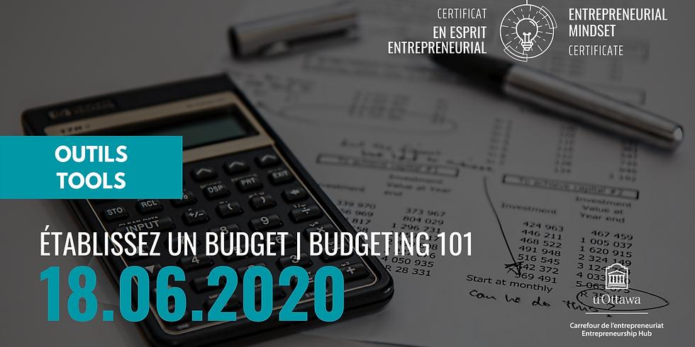 CEE: Établissez un budget   EMC: Budgeting 101