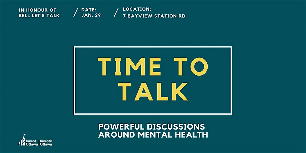 Time to Talk: Powerful Discussions Around Mental Health