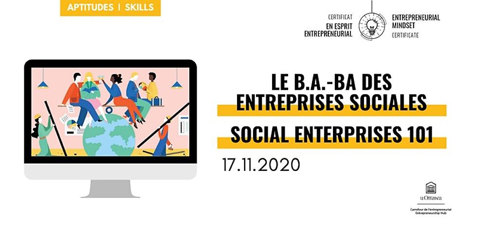 CEE: Le b.a.-ba des entreprises sociales | EMC: Social Enterprises 101