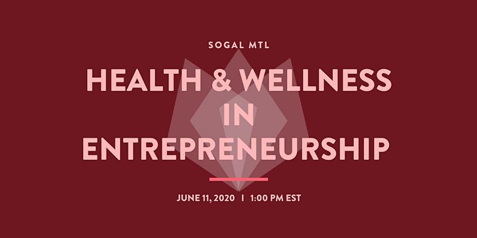 Health & Wellness in Entrepreneurship
