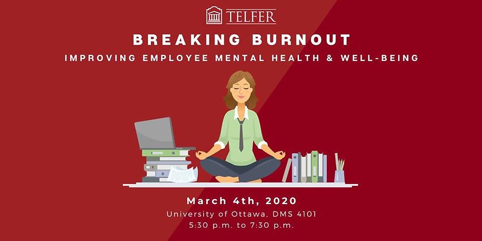 Telfer Forum: Breaking Burnout