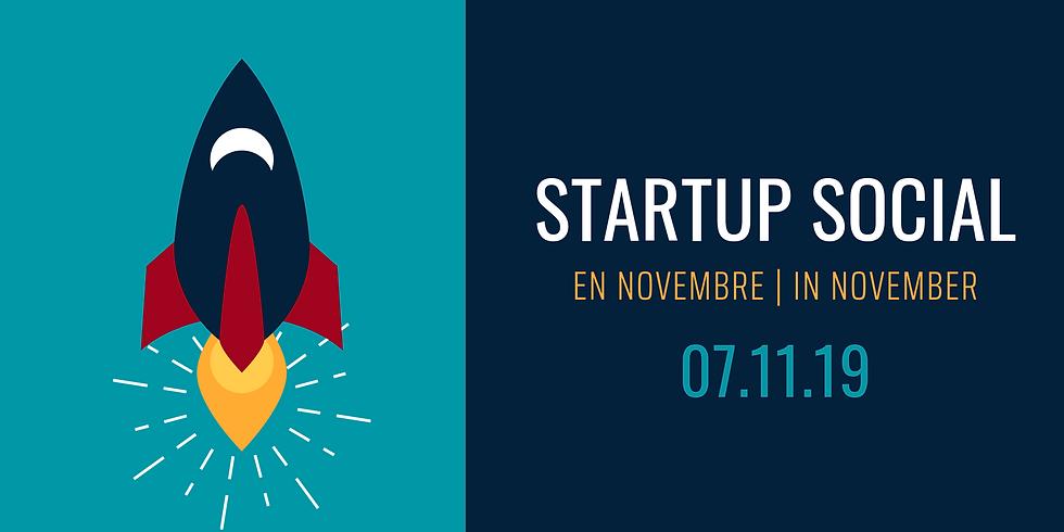 Startup Social: en novembre   in November
